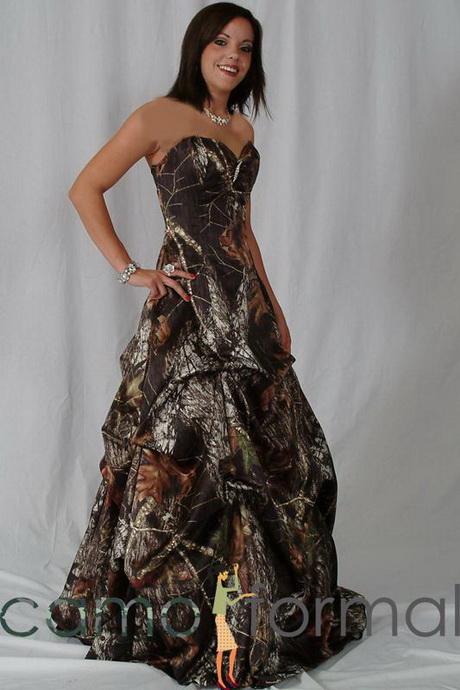 Camo formal dresses for Mossy oak camo wedding dress