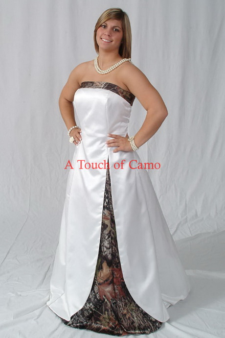 White Wedding Dresses With Camo : Camo wedding dresses camouflage gown ideas white