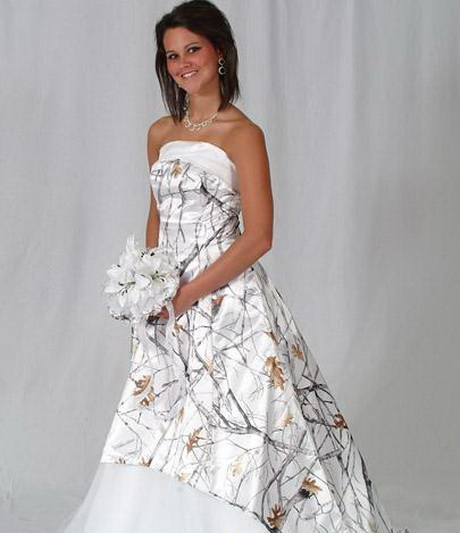 Mossy Oak Wedding Dresses: Camouflage Wedding Dresses