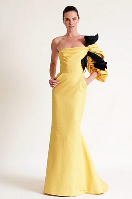 carolina herrera evening gowns