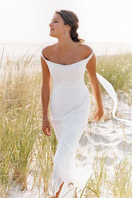 Casual beach wedding dress for Simple casual wedding dresses