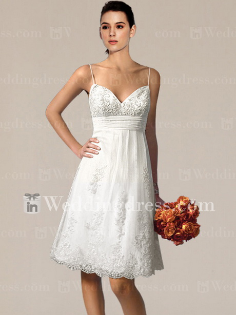 Casual short beach wedding dresses for Wedding dresses casual beach