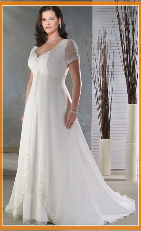 Informal Wedding Dresses For Older Brides: Casual Wedding Dresses With Sleeves