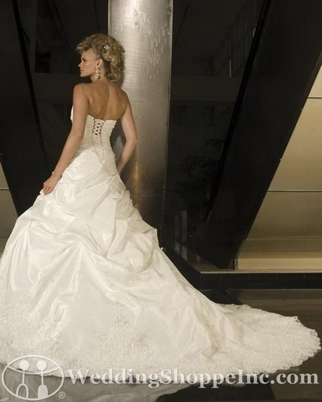 Cathedral Length Train Wedding Gowns: Cathedral Train Wedding Gowns