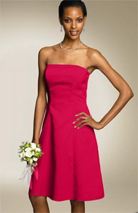 Cerise Bridesmaid Dresses