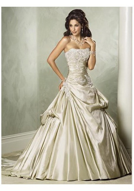 Champagne colored wedding dresses for Different colored wedding dresses