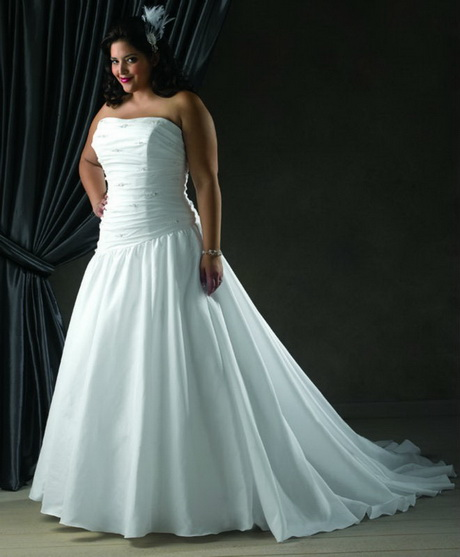 cheap plus size wedding dresses under 100 dollars