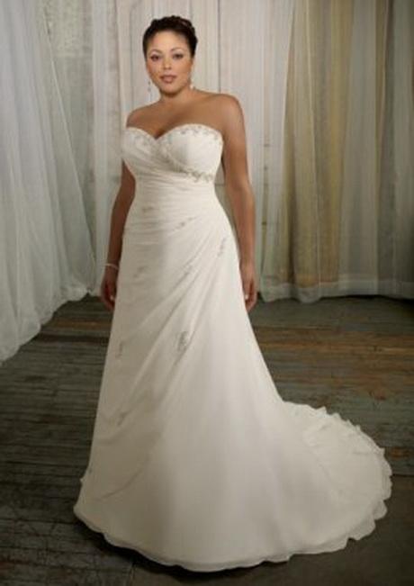 mermaid trumpet sweetheart chiffon sweep plus size wedding dresses