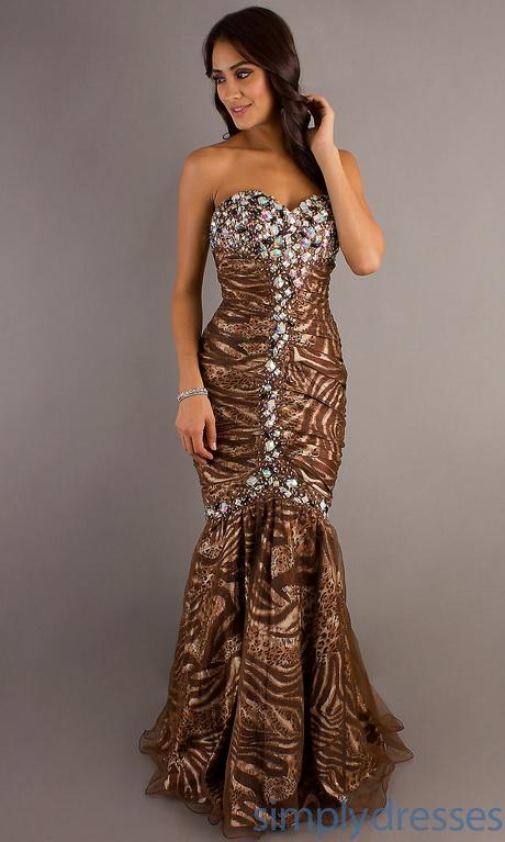 Chocolate Brown Formal Dresses