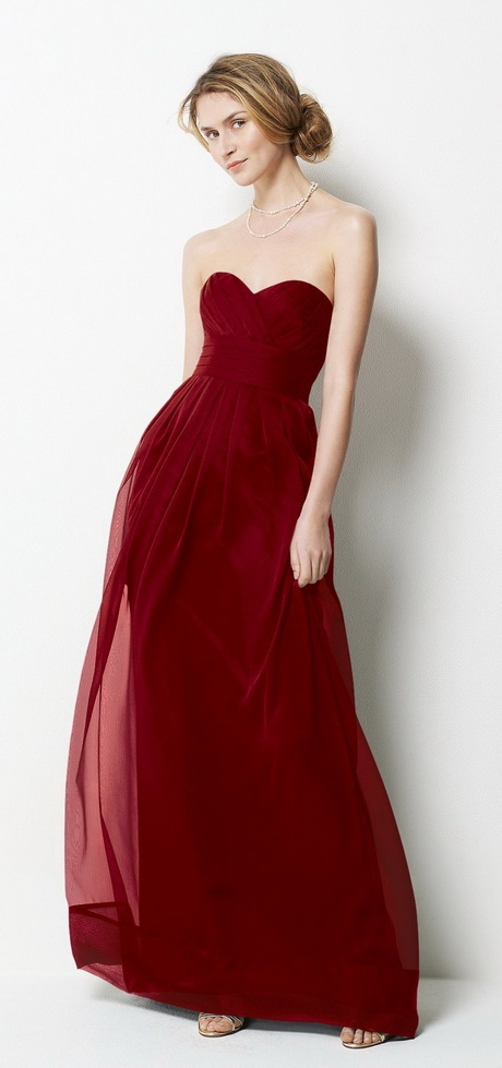 Christmas bridesmaid dresses