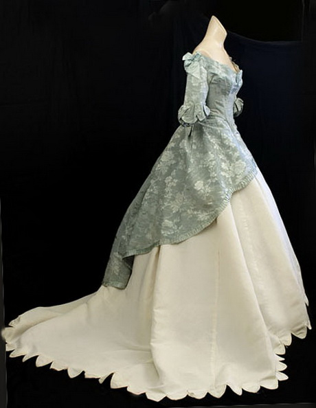 Civil war ball gowns for 1800 style wedding dresses