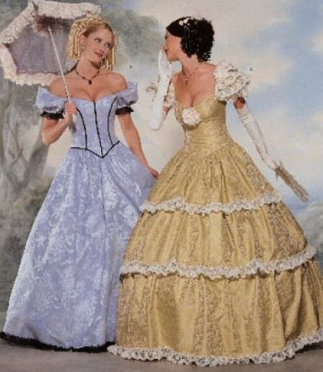 Civil War Ball Gowns 73