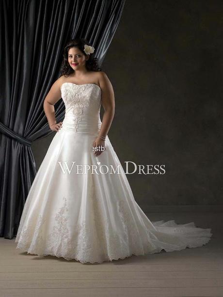 Clearance plus size wedding dresses