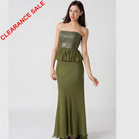clearance formal dresses