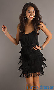 Buy Fringe Short Dress at SimplyDresses