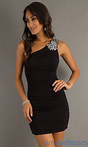 Buy Short One Shoulder Dress at SimplyDresses