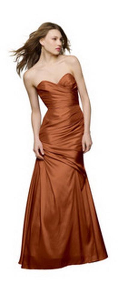Copper Bridesmaid Dresses