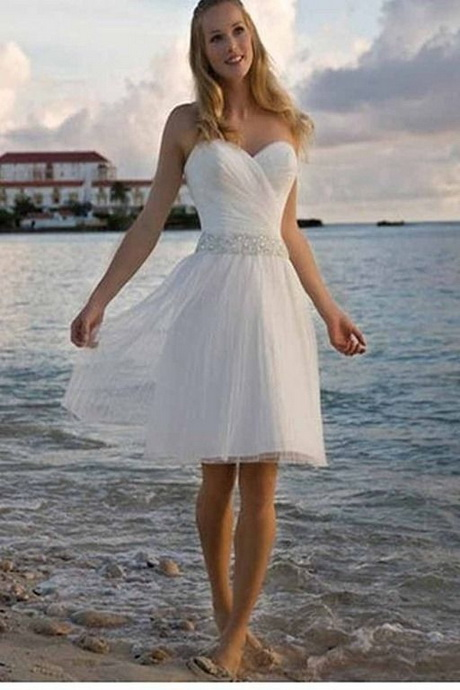 Beach Wedding Dresses Casual Cotton 85