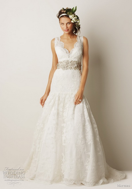 Wedding Dresses For   Mackay : Cotton lace wedding dress