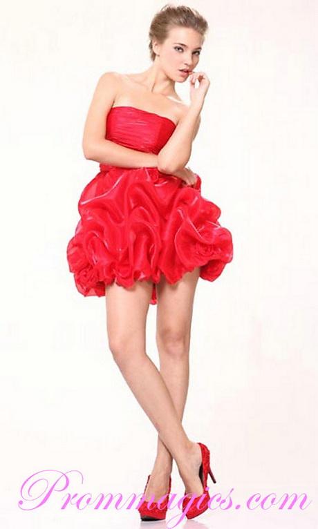 Cute red dresses