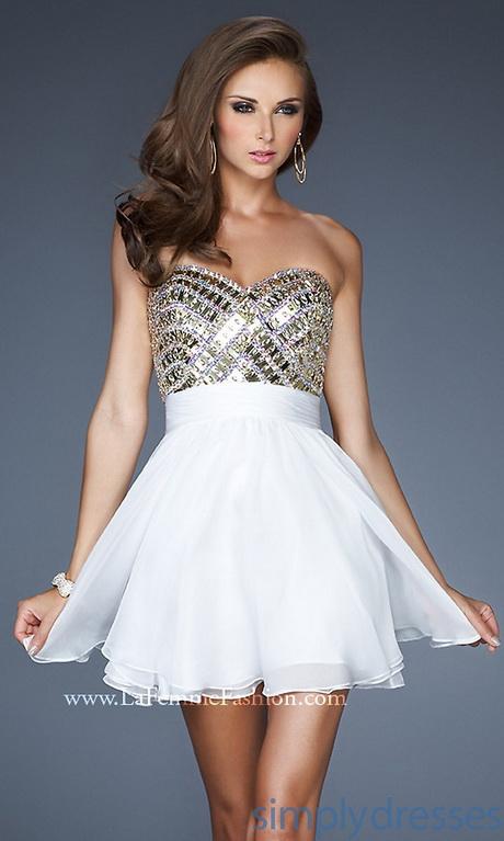 cute short white dresses