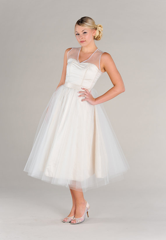 Vintage Inspired Tulle Circle Skirt from Pure Magnolia Couture