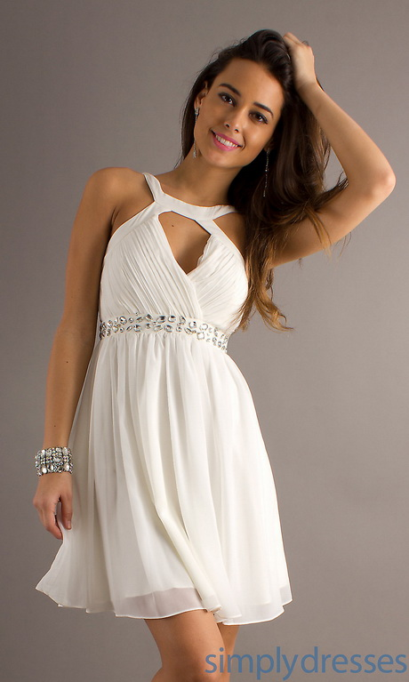 Cute White Dresses For Graduation