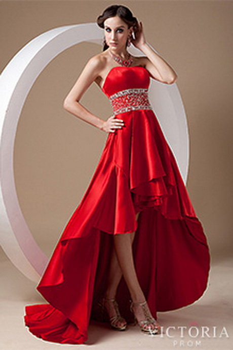 Red Prom Dresses  Long and Short Red Formal Gowns