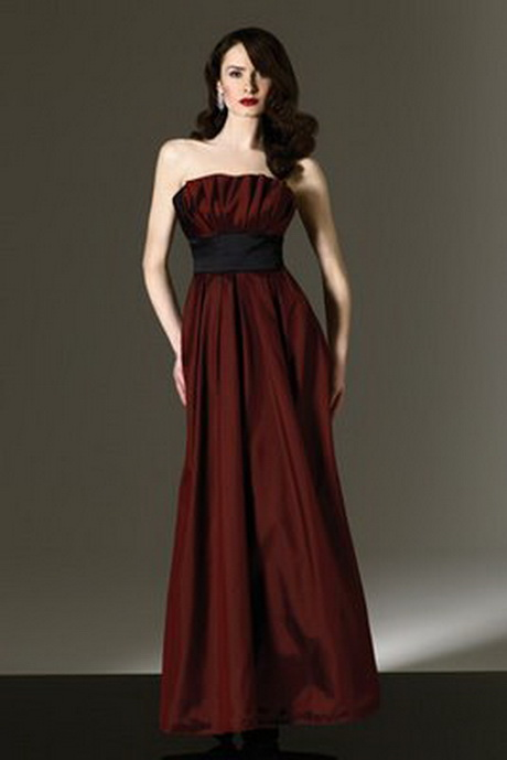 Dark red bridesmaid dresses for Wedding dresses color red