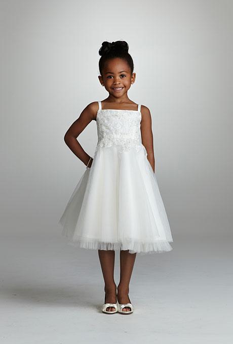 Flower Girl Dresses Davids Bridal White : Davids bridal flower girl dresses