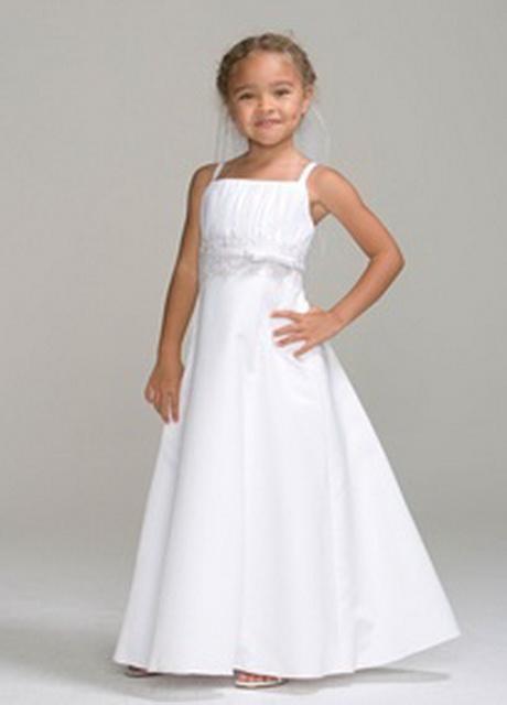 Flower Girl Dresses Davids Bridal White : Chiffon dresses david s bridal girls dress