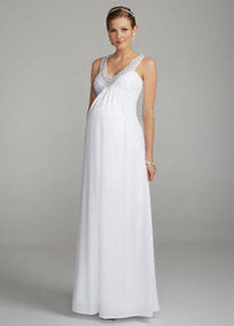 Davids bridal maternity dresses for Maternity wedding dresses under 100