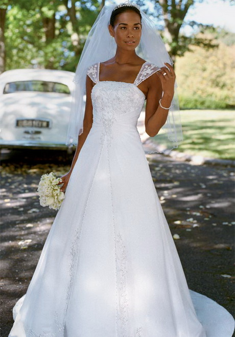 Davids bridal wedding dress for Wedding dress david bridal