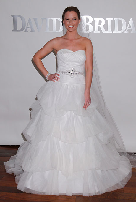 Davids bridal wedding gowns for David s bridal strapless wedding dress
