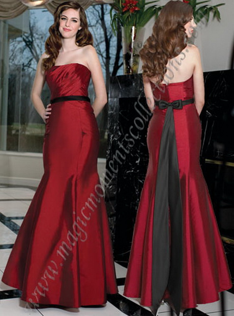 Davinci bridesmaid dresses for Da vinci red wedding dress
