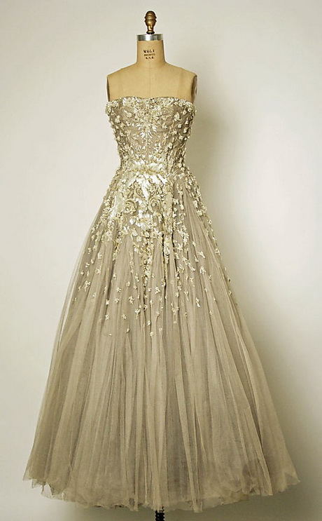 Designer Vintage Evening Gowns