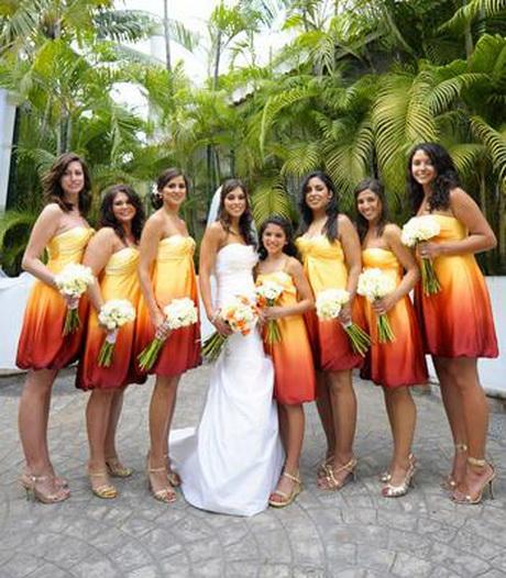 Destination Wedding Bridesmaid Dresses
