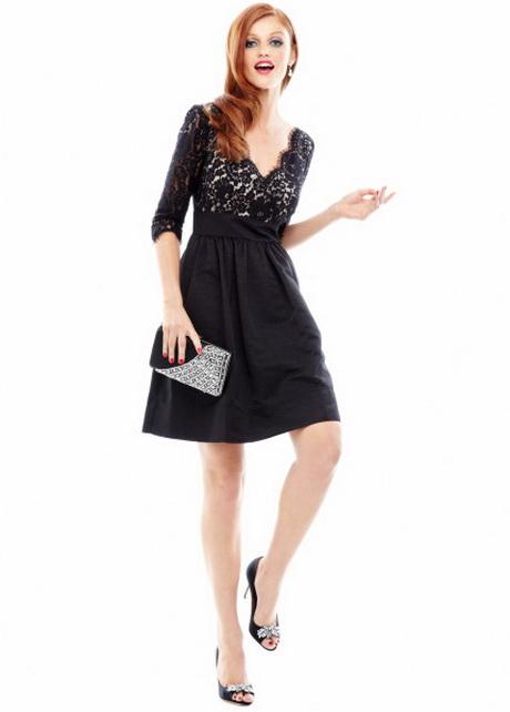 Eliza J Lace Amp Faille Dress