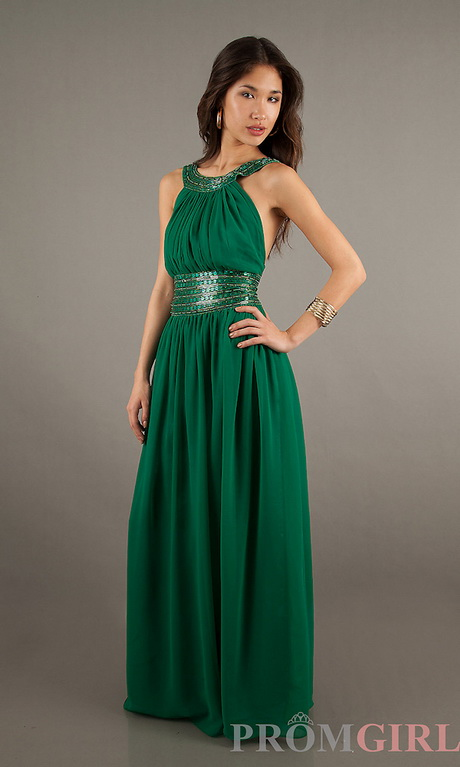 Fashion week Green Emerald homecoming dresses for lady
