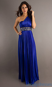 Buy Long Blue Dress by XOXO at SimplyDresses