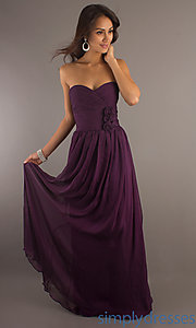 Buy Classic Long Strapless Sweetheart Gown at SimplyDresses