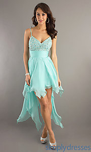 Buy Spaghetti Strap Party Dress  at SimplyDresses