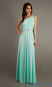 Buy One Shoulder Temptation Evening Gown at SimplyDresses