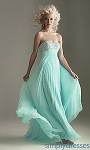 Buy Strapless Pleated Prom Dress at SimplyDresses