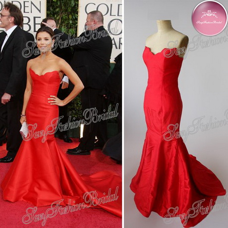 Eva longoria red dress for Eva my lady wedding dress