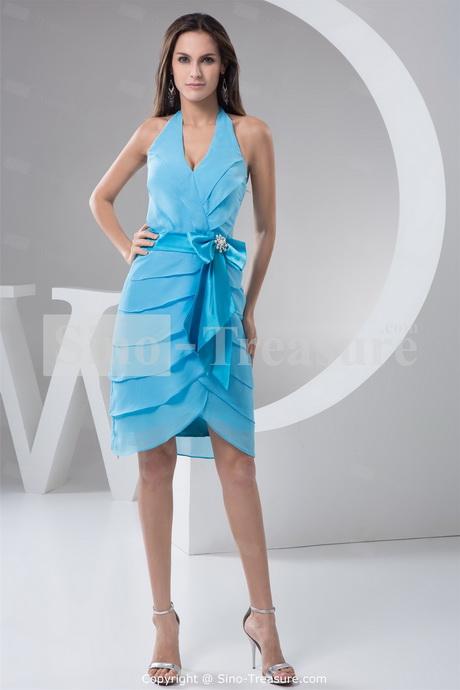 Cheap Evening Dresses Knee Length 81