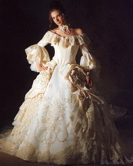 Discount Fantasy Fairy Medieval Gothic Wedding Dresses: Fantasy Wedding Gowns