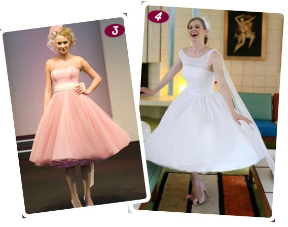 bespoke 50s wedding dresses