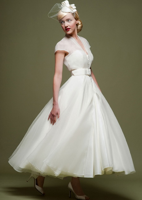 Wedding Dresses From The Fifties 47