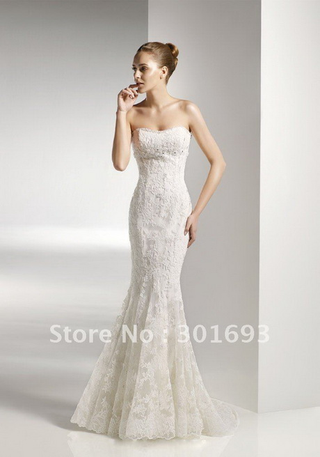 A Fishtail Wedding Dress : Fishtail wedding dresses